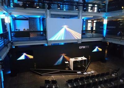 Projektname: GFM 2018 – Berlin | Auftraggeber: Liganova GmbH | Leistungen: technische Leitung und Umsetzung | Foto: © Trollwerk